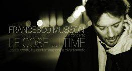 Francesco Mussoni in concerto, sabato 16 novembre al Teatro del Navile di Bologna