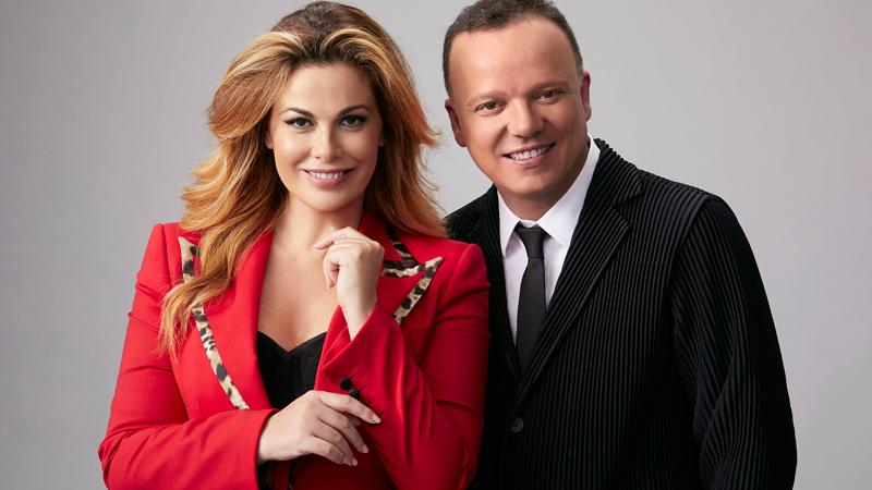 """Gigi D'Alessio e Vanessa Incontrada presentano su Rai1 """"20 anni che siamo italiani"""""""