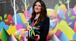 Laura Pausini vince il Premio alla carriera nella categoria Golden LOS40 MUSIC AWARDS