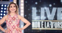 """""""LIVE NON È LA D'URSO"""":   TALK SHOW PIÙ SEGUITO DELLA PRIMA SERATA"""