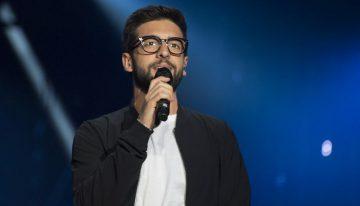PIERO BARONE DE IL VOLO A SOSTEGNO DELLA RACCOLTA FONDI PER GLI OSPEDALI DI AGRIGENTO